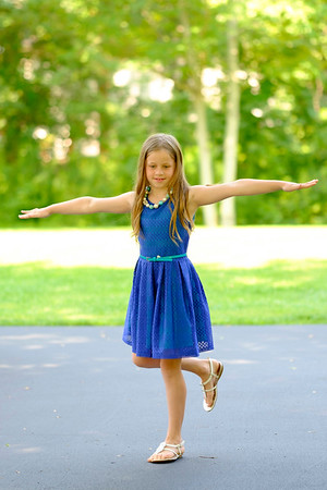 JOED VIERA/STAFF PHOTOGRAPHER-Emma Holler practices her dance routine for the talent portion of Pendleton's pageant.