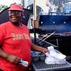 JOED VIERA/STAFF PHOTOGRAPHER-Lockport, NY-Eula Collins at Baby Ribs food truck during this year's Taste of Lockport.