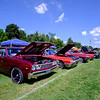 JOED VIERA/STAFF PHOTOGRAPHER-Lockport, NY-Cars line the fields of the Kenan Cener.