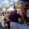 Joed Viera/Staff Photographer-A scene in front of DeFlippos during this year's Taste of Lockport.