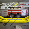 JOED VIERA/STAFF PHOTOGRAPHER-The Lockport Fire Department's new inflatable rescue boat. Vandemark Chemical played a part in donating the boat to the department.