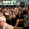 Western New York political and faith leaders joined others during a vigil held for Heather Heyer, Lieutenant H. Jay Cullen and Trooper Berke M. M. Bates at Durham Memorial A.M.E. Zion Church in Buffalo, N.Y. on Wednesday, Aug. 16, 2017. (Joed Viera/Lockport Union-Sun & Journal)