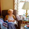 JOED VIERA/STAFF PHOTOGRAPHER-Ruth Ripple sits in her daughters home recalling moments from her life. Ripple recently turned 106.