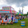 JOED VIERA/STAFF PHOTOGRAPHER-Patrons buy cotton candy at the Niagara County Fair.