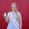 JOED VIERA/STAFF PHOTOGRAPHER-Erica Vanburen, 18, is this year's Niagara-Orleans County Dairy Princess.