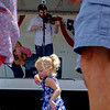 Joed Viera/Staff Photographer-A girl dances to the Brothers Blue during this year's Taste of Lockport.