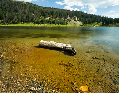 Poudre Lake in Rocky Mountain National Park.