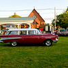 Joed Viera/Staff Photographer- <br /> Classic rides fill Olcottt's streets during a Car Show.