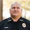 Joed Viera/Staff Photographer-Somerset's new Town Police chief Jon Miller outside of Somerset Town Hall.