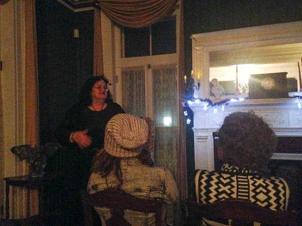 Lauren D'Avolio/Staff- Vanhorn Mansion Candlelight tour.