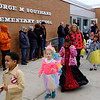 Joed Viera/Staff Photographer-George Southard Elementary School teachers and students participate in the School's Halloween Parade.