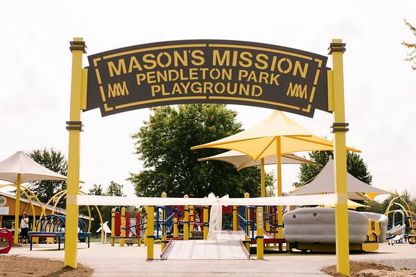 NICOLE HODGE/CONTRIBUTER- Mason's Mission Pendleton Playground.