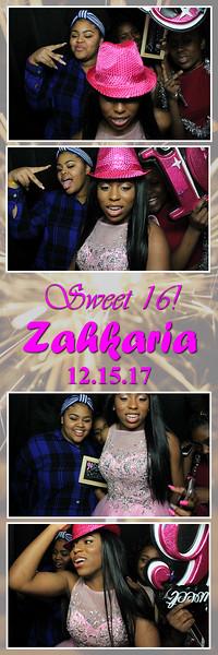 12.15.17 Zahkaria's Sweet 16 (PB)