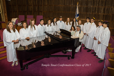 170528 Temple Sinai Confirmation Class of 2017