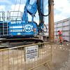 Hammersmith Pumping Station Construction 16/05/2017