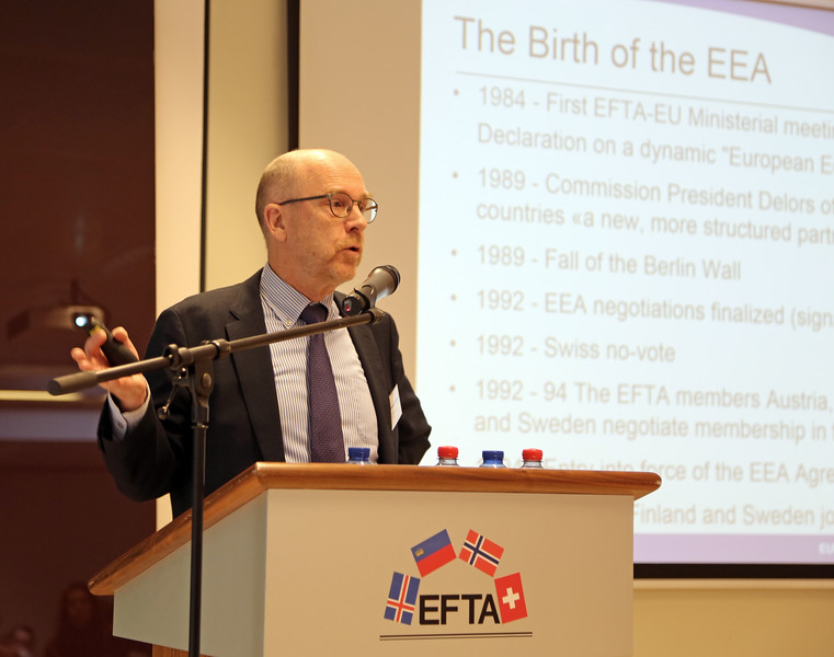 Speaker: Dag Wernø Holter, Deputy Secretary-General, EFTA Secretariat