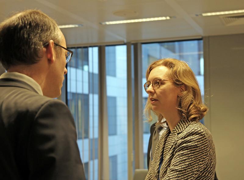 Ambassador Sabine Monauni, Head of the Mission of the Principality of Liechtenstein to the EU