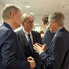 From left: Sven Erik Svedman, President, ESA; Mr Claude Maerten, Head of Division, European External Action Service (EEAS); Mr Georges Baur, Assistant Secretary-General