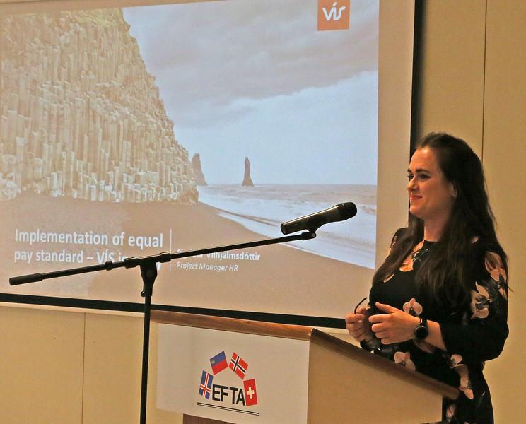 Sigrud Vilhjalmsdottir, Project Manager HR, VIS, Icelandic Insurance Company