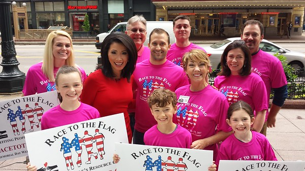 2017-05-24 Judy Hsu ABC-TV Ch. 7 Promotion of Race To The Flag 5K