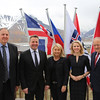 From left: Mr Kristinn F. Árnason, Secretary-General, EFTA;  Mr Guðlaugur Þór Þórðarson, Minister for Foreign Affairs and External Trade, Iceland; Ms Monica Mæland,  Minister of Trade and Industry, Norway; Ms Aurelia Frick, Minister for Foreign Affairs, Justice and Culture, Liechtenstein; Mr Johann N. Schneider-Ammann, Federal Councillor, Head of the Federal Department of Economic Affairs, Education and Research , Switzerland