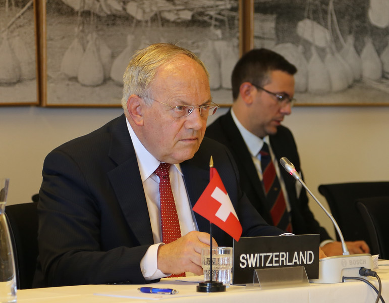 Mr Johann N. Schneider-Ammann, Federal Councillor, Head of the Federal Department of Economic Affairs, Education and Research , Switzerland.