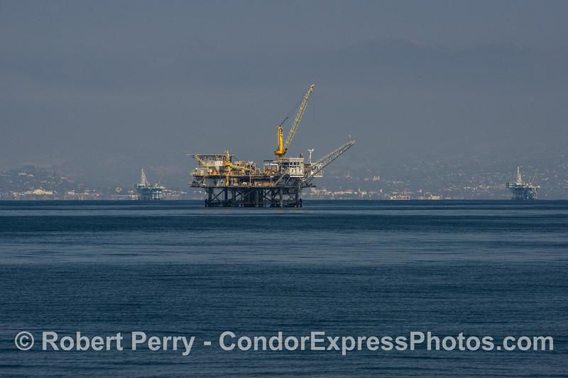 Platform Habitat lookin towards Santa Barbara (north).
