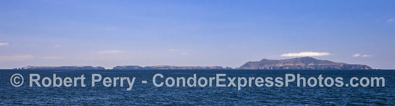 Panorama - Anacapa island.