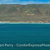 Panorama - San Miguel Island - southeast - pinnipeds across wide beach