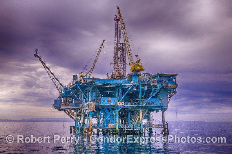 "The notorious oil platform ""A"""