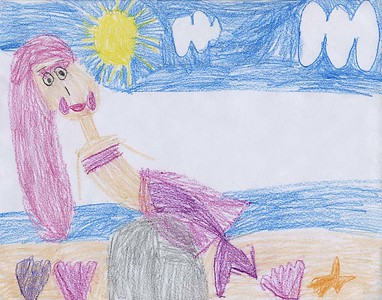 """Laura Chirinos-Almanza Southside Early Childhood Center """"The Mermaid"""""""