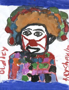 """Keyshawn Dudley Rosenwald Elementary/Middle School """"Colorful Clown"""""""