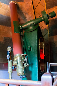 Refractor telescope inside the main dome at Sydney observatory