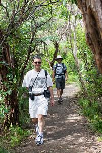 Piha hike, NZ