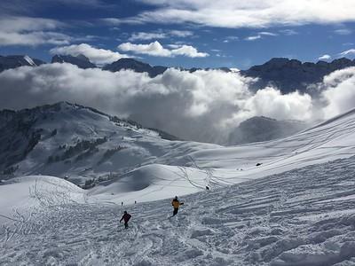 Grant and Brad, Les Crosets, Switzerland