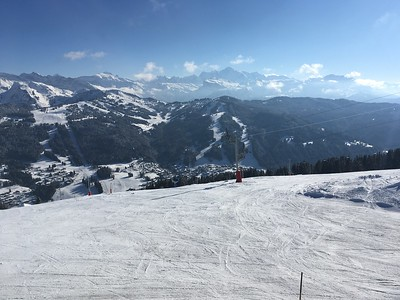 Mont Blanc from Les Gets