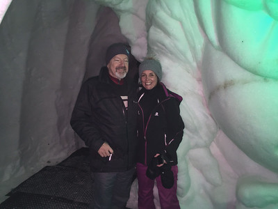Bill and Cathy, SkiCan team