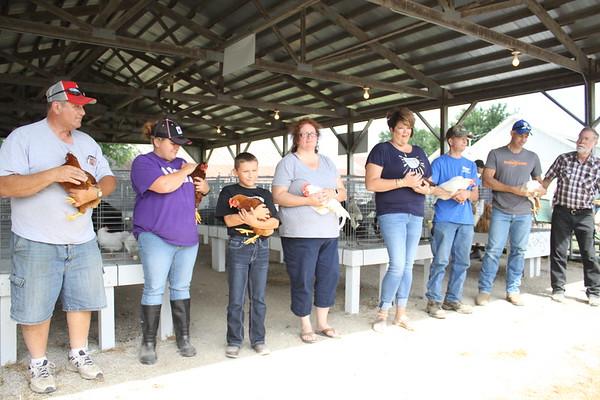 2017 Benton County Fair Poultry Show