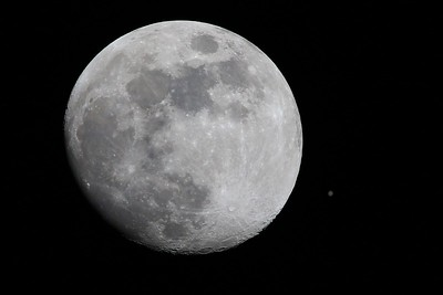 Moon & Jupiter Composite