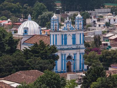 Cathedral in San Cristobal de Las Casas