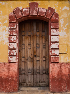 Door in San Cristobal de Las Casas