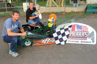 Jr sportsman July 7 makeup win - 2