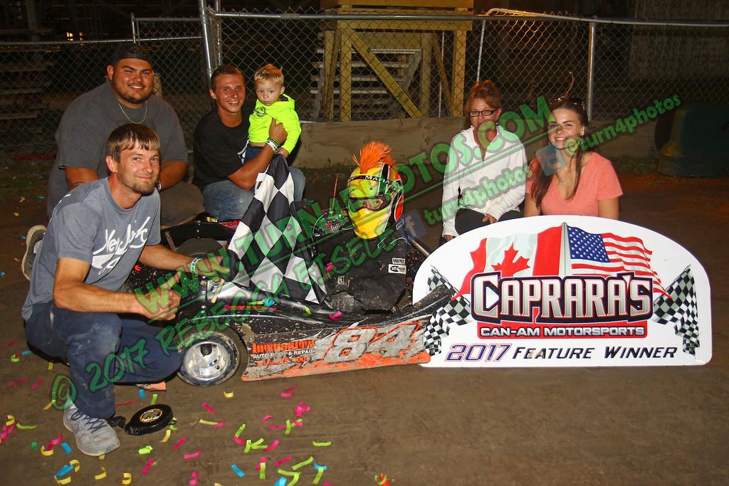 Jr sportsman one July 21 winner - 2
