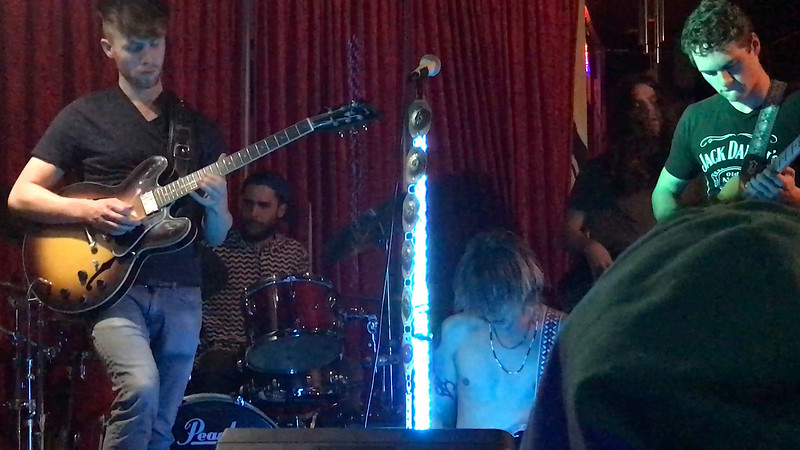 February 2, 2017 - Eli Cherry's drum solo with his band, The Other Side, at The Lexington, LA, CA