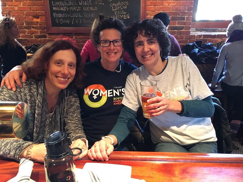 01 Women's March - Boston