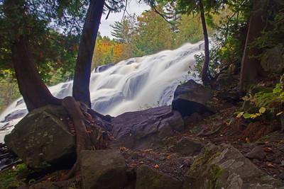 DA031,DP,Fall Day At Bond Falls