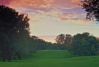 DA031,DP,Sunset On the Golf Course