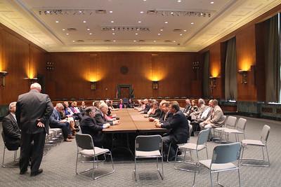 LFBF volunteer leadership and staff before their meeting with Senator Bill Cassidy.