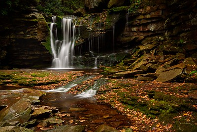 DA099,DT,Elakala Falls,Allegheny Mountains,West Virginia