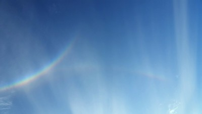 Tangent Rainbow Arcs